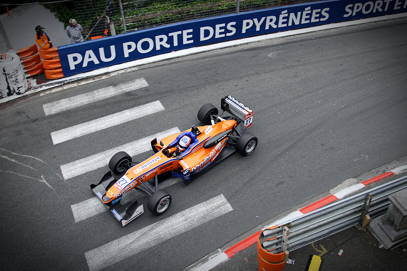Victory on the streets of Pau
