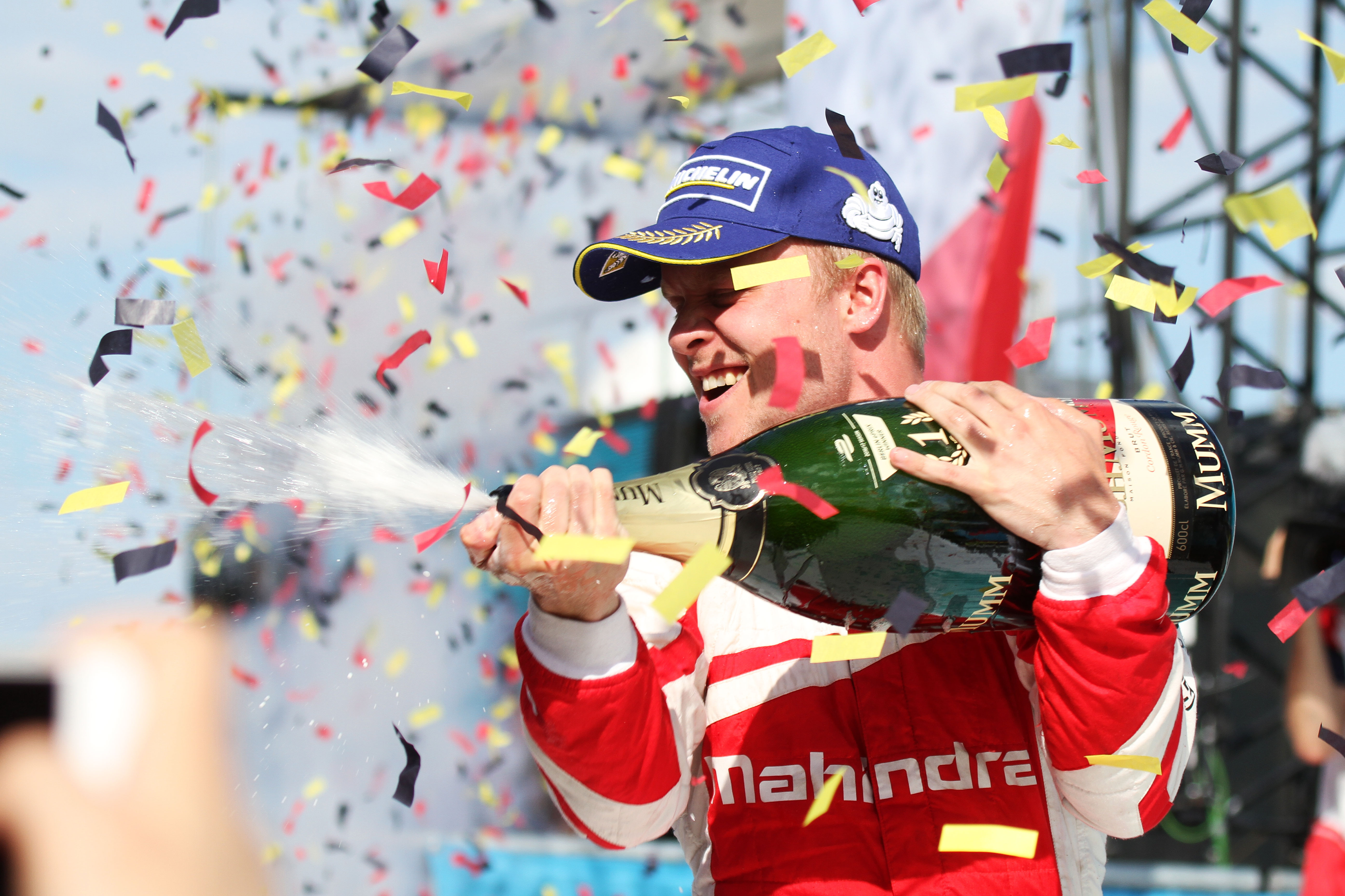First Formula E victory