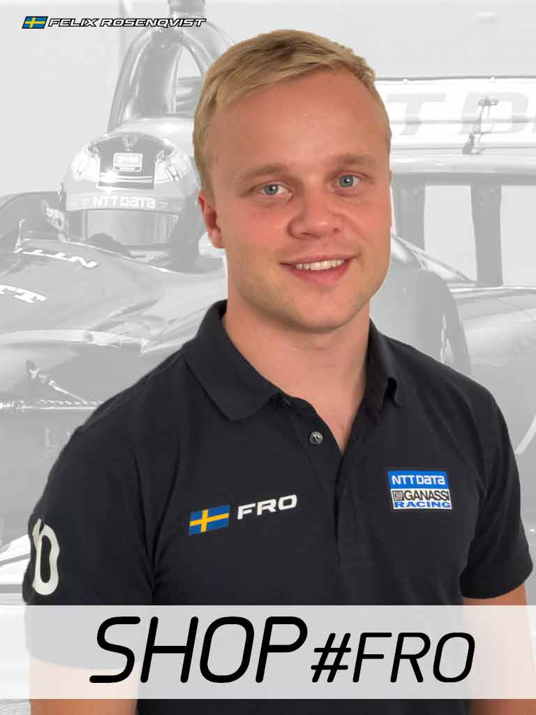 Felix Rosenqvist cleared to race at Gateway